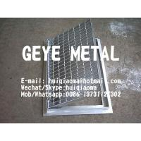 Quality Drainage Pit Cover, Trench Drain Bar Gratings, Metal Grid for Ditch Cover, Channel Grates for sale