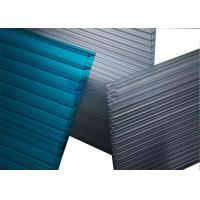 Quality Greenhouse Triple Wall Polycarbonate Sheet Impact Resistance Ten Year Warranty for sale