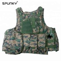 Quality Tactical Paintball Hunting Military Combat Vest Airsoft Gear Adjustable Wear Resist for sale