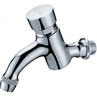 Quality Modern Water Saving Self-Closing Faucets / Wall Mounted Brass Mixer Taps HN-7H07 for sale