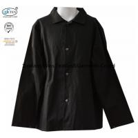 China Cotton Black  Frc Fire Retardant Shirts / Flame Resistant Uniforms 260gsm on sale