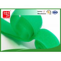 Quality Flame retardant green industrial strength hook and loop tape roll for firefighter uniform for sale