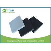 Quality Black / Grey Epoxy Resin Laboratory Countertops High Temperature Resistant for sale