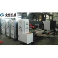 Quality Flexo Printer Slotter Machine Equipment Thickness 2-10mm Four Colors Printing for sale