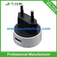 Quality 3pin UK plug usb 5V 2.1A double wall charger travel charger for sale