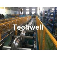 China Metal Valley Flashing Roll Forming Machine With 45# High Grade Steel Roller Material And 0-15m/min Forming Speed on sale