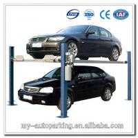Quality Four Post Car Parking Lift Double Car Parking System for sale