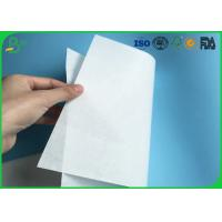 China Environmental Friendly 30gsm 35gsm 40gsm White Kraft MG Paper For Making Food Packaging on sale