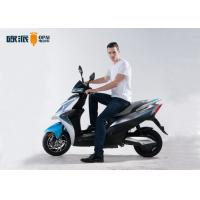 Quality Powerful Max Speed 50km Electric Moped Scooter  Double LED Headlight CST Tubeless for sale