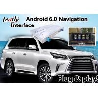 Quality Android 6.0 Navigation Video Interface for 2012-2017 Lexus LX Built in Mirrorllink for sale