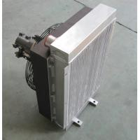 Quality Bar And Plate Compact Heat Exchanger oil cooler with electrical fan for sale