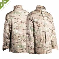 Quality M65 Military Field Jacket Water Repellent With Concealed Hood for sale