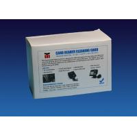 Quality CR80 Cleaning Card ATM Cleaning Kit Compatible With Card Printer Machine for sale