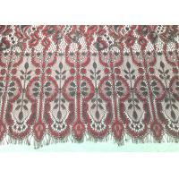 """Buy cheap Machine knitted Jacquard Eyelash Lace Trim 150cm / 60"""" Wide Embroidery Wedding from wholesalers"""