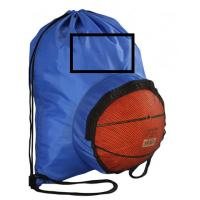 Quality High Quality Customized Polyester Football Basketball Drawstring Backpack Bag with logo for sale