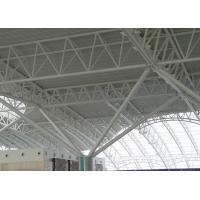 China Airport Terminal Hot Rolled Steel Pipe Trusses Pre Engineered Steel Structure on sale