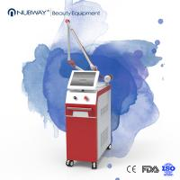 China Pigment and Tattoo,hair removal Q Switched Nd Yag Laser skin care machine on sale
