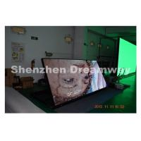 Quality DIP P10 Outdoor LED Signs 2.88 by 1.28 m Screen Size Steel Cabinet for sale