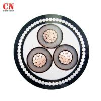 Quality XLPE 11kv MV Multi Core Armoured Cable 10mm 4mm 3 Core 50m Cu Conductor for sale