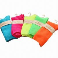 Quality Ladies' Double Cylinder Cotton Socks for sale