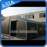 Quality Large Inflatable Camouflage Military Tent For Camping, Holiday Army Tent for sale