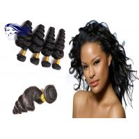 China 8-30 Loose Wave 8A Unprocessed Hair Weaving Remy Indian Hair Extensions on sale