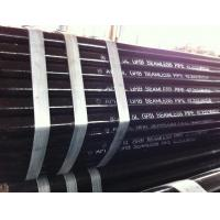 Buy cheap Black Paint Printed API 5L Gr.B 42.2 mm x 3.56 mm x 5.8M Seamless / LSAW / SSAW Pipe product