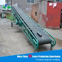 Quality Electric mining machine conveyor belt with durable conveyor roller for sale
