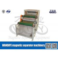 Buy cheap Double Layer Conveyor Belt Magnetic Separator , Magnetic Roll Separator from wholesalers