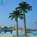 Fiberglass Trunk Artificial Palm Trees Large Size For Theme Park Decoration for sale