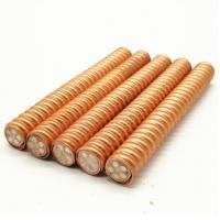 Quality Inorganic Mineral Insulated Cable Mica Tape Wrapped Copper Sheathed Material for sale