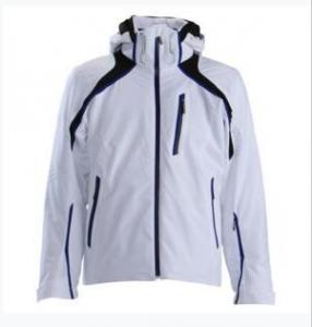 Last design fashionable hoody snow jacket