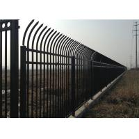Quality HAISEN Schools Garrison Fencing  Heavy  Duty Tubular Steel Components for sale