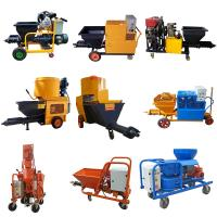 Quality High Performance Mortar Spraying Machine 3 Phase For Wall 4.4kw Motor Power for sale