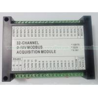 Quality 32 AI Voltage Acquisition Module 32AI 0-10V 12bit RS485 Modbus optocoupler isolate for sale