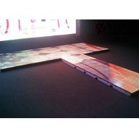 Quality Indoor Interactive P5.95 Floor LED Screen RGB Full Color 1200 Nits for sale