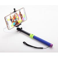 China Stainless steel Handheld Selfie Stick Bluetooth Monopod With Audio cable for iPhone on sale