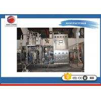 Electric Plastic Bottle Filling Machine 4.8KW , Commercial 3 In 1 Beverage Filling Equipment