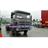 Quality LHD & RHD 6x4 Tri-Ring 375HP 8--12CBM concrete cement mixer truck for Madagascar for sale