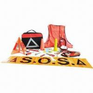 Quality Car emergency kit/car tool kit/complex roadside emergency kit, includes safety vest for sale