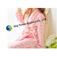Quality Various Styles Patterns Pink Chenille Robes for Women Eco-friendly Material for sale