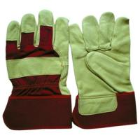 Quality Pig Leather Work Glove for sale