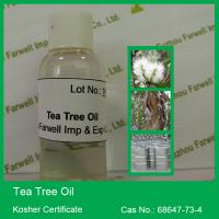 Quality 100% Pure and Natural Tea Tree Oil, Kosher Certificate for sale