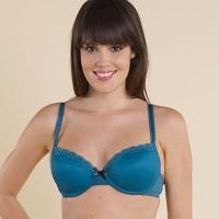 Buy cheap 15% Spandex 60% Nylon 20%Polyester OEM K Cup Padded Plus Size Convertible Bra For Ladies product