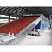 1.6 M Width Belt Conveyor Dryer Machine Blue Color For Food Dehydration