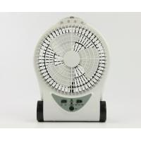 Buy cheap Small Portable Rechargeable Battery Operated Fan With Adjustable Base product