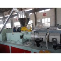 Quality WPC Machinery Wood Plastic Extrusion Lines For Indoor Decration Material for sale