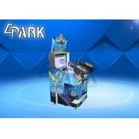 China Alien Themed Shooting Arcade Machines , Two Players Video Game Simulator on sale