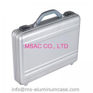 Quality Silver Lockable Aluminum Attache Case for sale