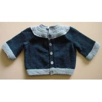 China different color 2012 fashion 100% cotton Long Sleeve Knitted Cardigans Sweater Babies on sale